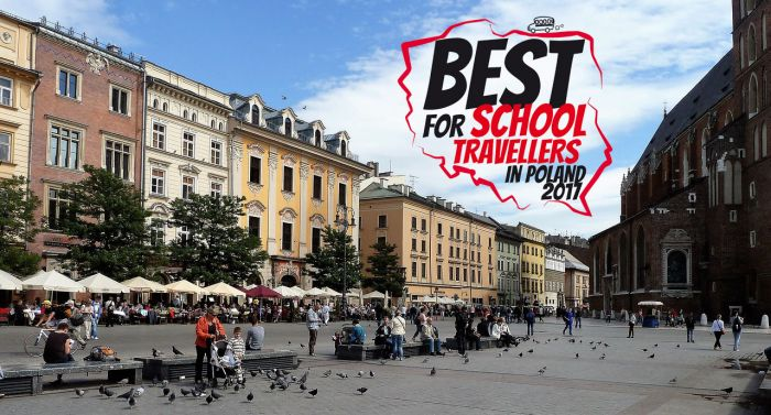 Plebiscyt Best for School Travellers in Poland 2017